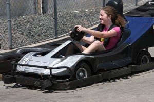 Go Cart Girl