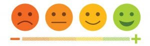 Sad Face to Smiley Face Emoticons